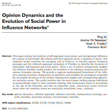 Social Power Article